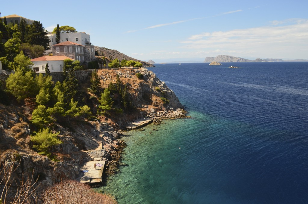 Stunning views from Hydra