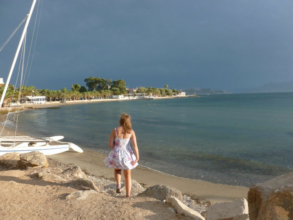 First steps on Aegina Island