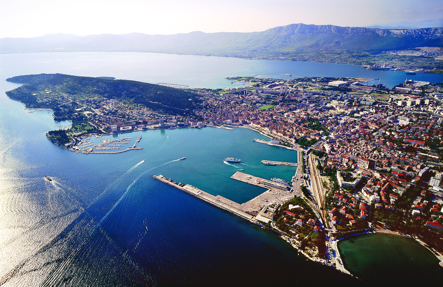 split is where the big sail s croatian sailing adventure begins split ...