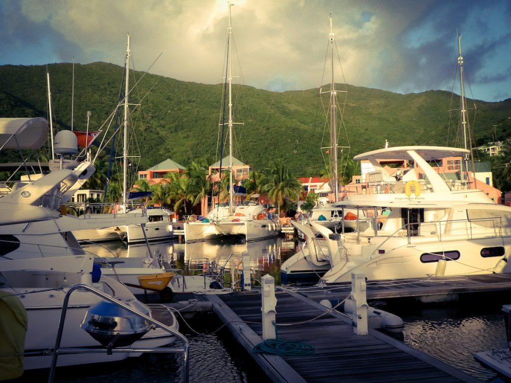 yacht charter tortola