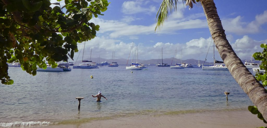sailing holidays cooper island